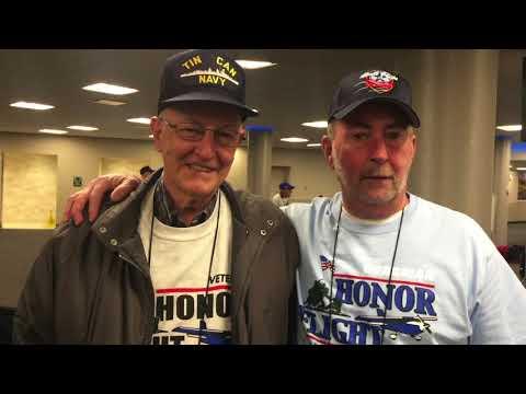 Honor Flight Columbus Mission #86 April 7, 2018