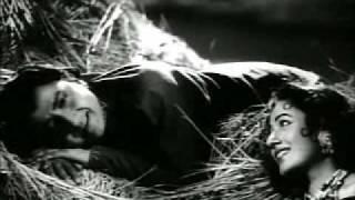 Phagun(1958)-Main Soyi Ankhiyaan Neeche (Asha Bhonsle & Mohd. Rafi)