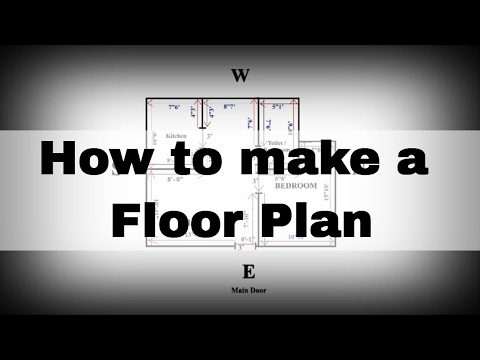 How to make Floor Plan | House plan |  Saral Vaastu | Call +91 9321333022