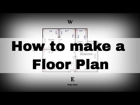 Saral Vaastu - How to make Floor Plan