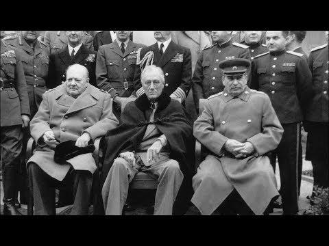 Сталин, Черчилль, Рузвельт. Рассекречены уникальные секретные документы