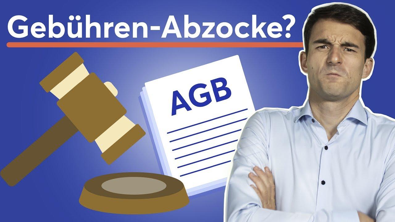 Banken haben 3 Mrd. € an unrechtmäßigen Gebühren erhoben!   BGH-Urteil zu Bankgebühren