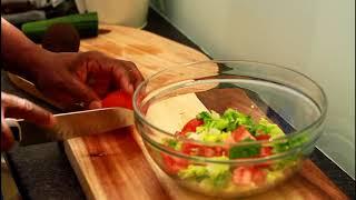 Quick & Easy Recipe For Weight Lose Salad !!Chef Ricardo Salad Bar