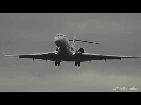 Airplanes at RAF Northolt - London -  6/10/2016 (Tornado, BAe Hawk,Business Jets)