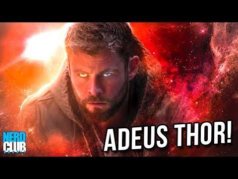FINAL ÉPICO! A Cena Final do Thor em Vingadores: Ultimato - Descrição + Adam Warlock