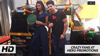 Crazy Fans at Hero Promotions |  Sooraj Pancholi, Athiya Shetty