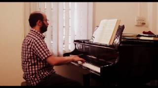 """Bach - BWV 691 - Chorale in A minor - """"Wer nur den lieben Gott läßt walten"""""""