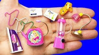 20 DIY BARBIE MINIATURE DOLLHOUSE HACKS AND CRAFTS !!!
