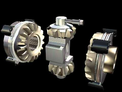 Eaton Mechanical Locking Differential - YouTube