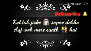 Pehli Baar mile hain-  WhatsApp video status Tiger zinda Hain... Arijit singh