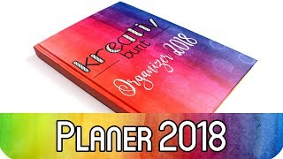 Mein Planer Setup 2018 - Bullet Journal inspirierter Planer