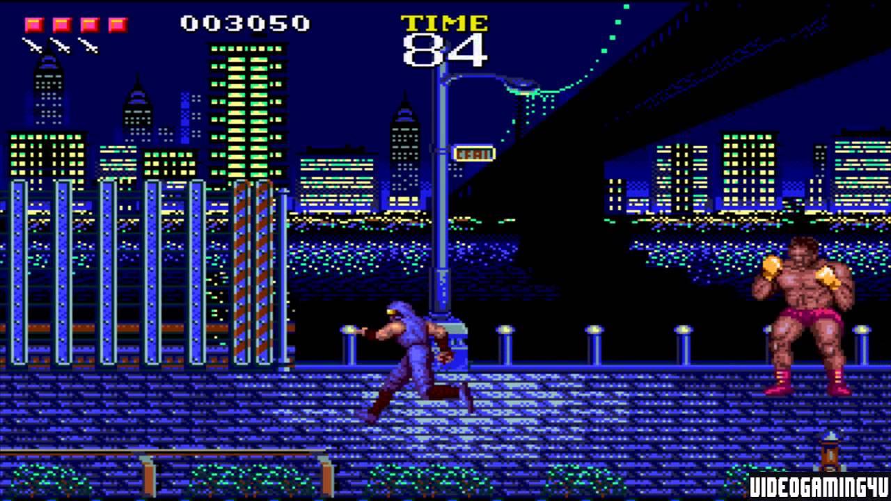Ninja Gaiden (Sega Genesis) - Game Play