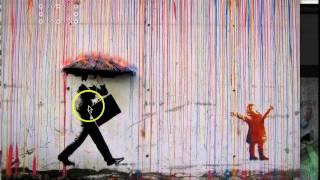 mundtlig analyse af street art kunstværk