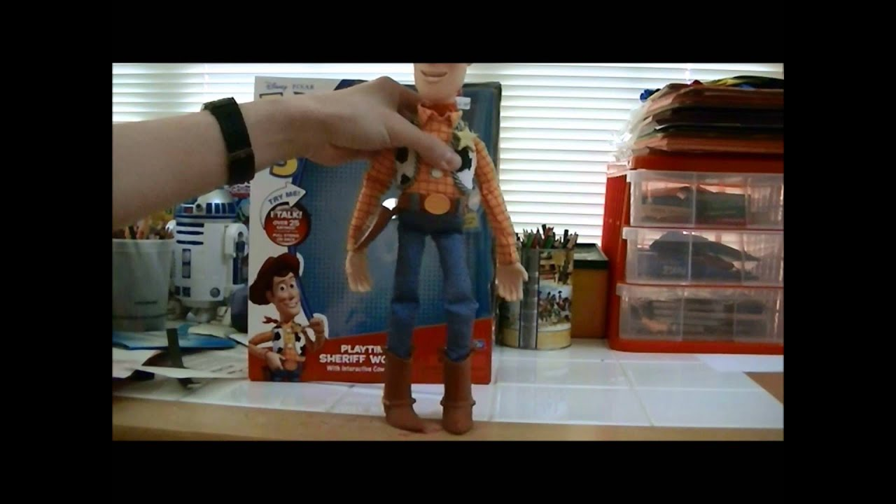 Toy Story Toys Videos Toy Story 3 Playtime Sheriff Woody Review Youtube