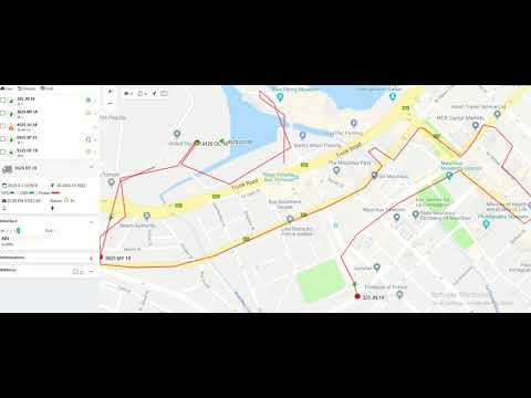 Locate Park and Ride Shuttles  with GPS Tracking