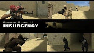 Counter Strike 1.6 Insurgency mod gameplay showcase