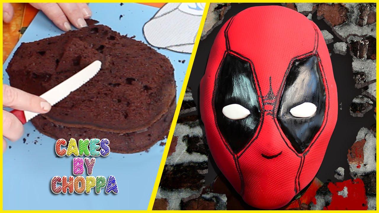 Deadpool Cake How To Youtube