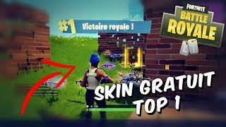 Fortnite - TOP 1 WITH THE SKIN FREE!