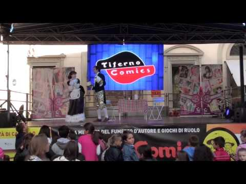 Tiferno Comics 2015 GARA COSPLAY La Bella e la Bestia
