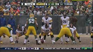 2013 Steelers @ Packers