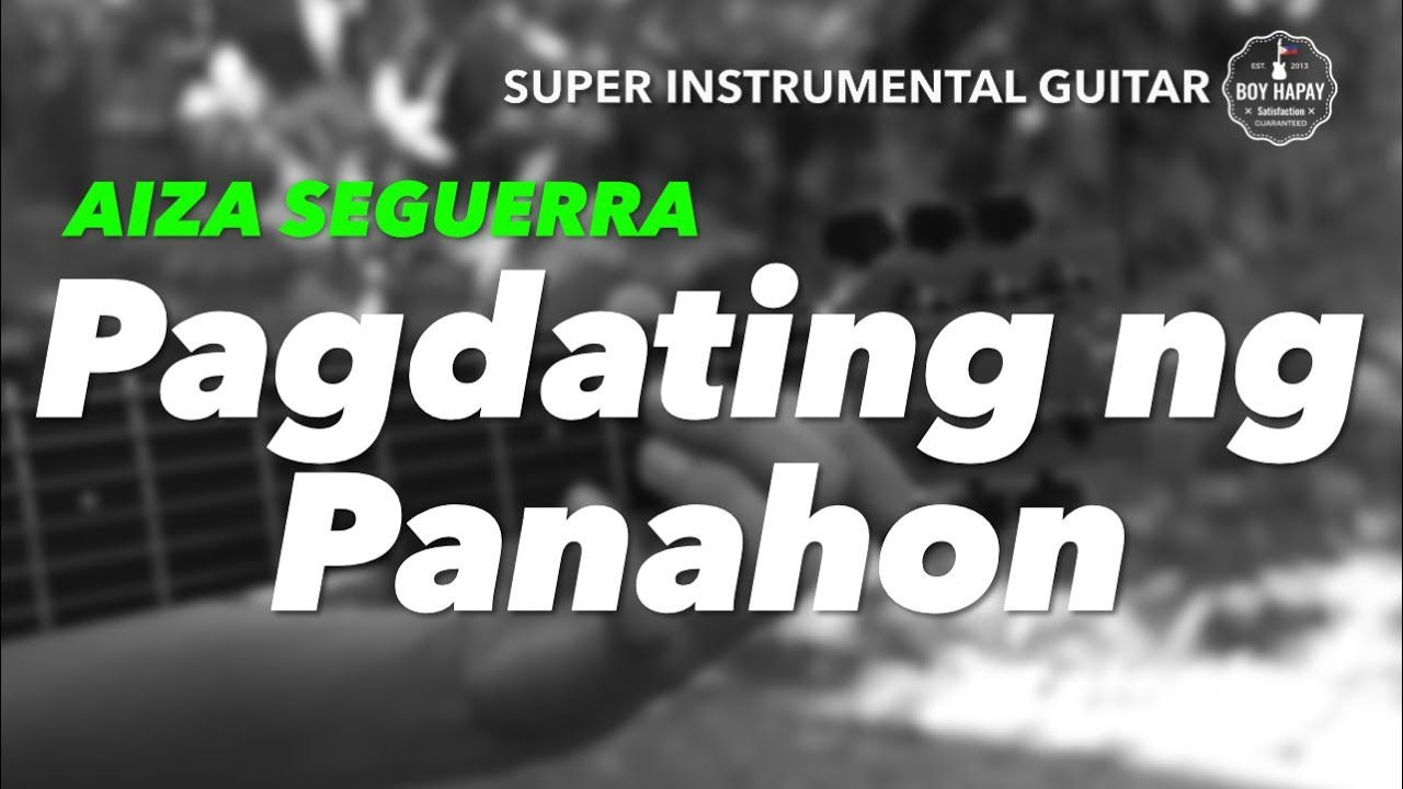 Pagdating ng panahon minus one band