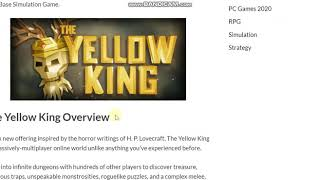 The Yellow King PC Game Free Download