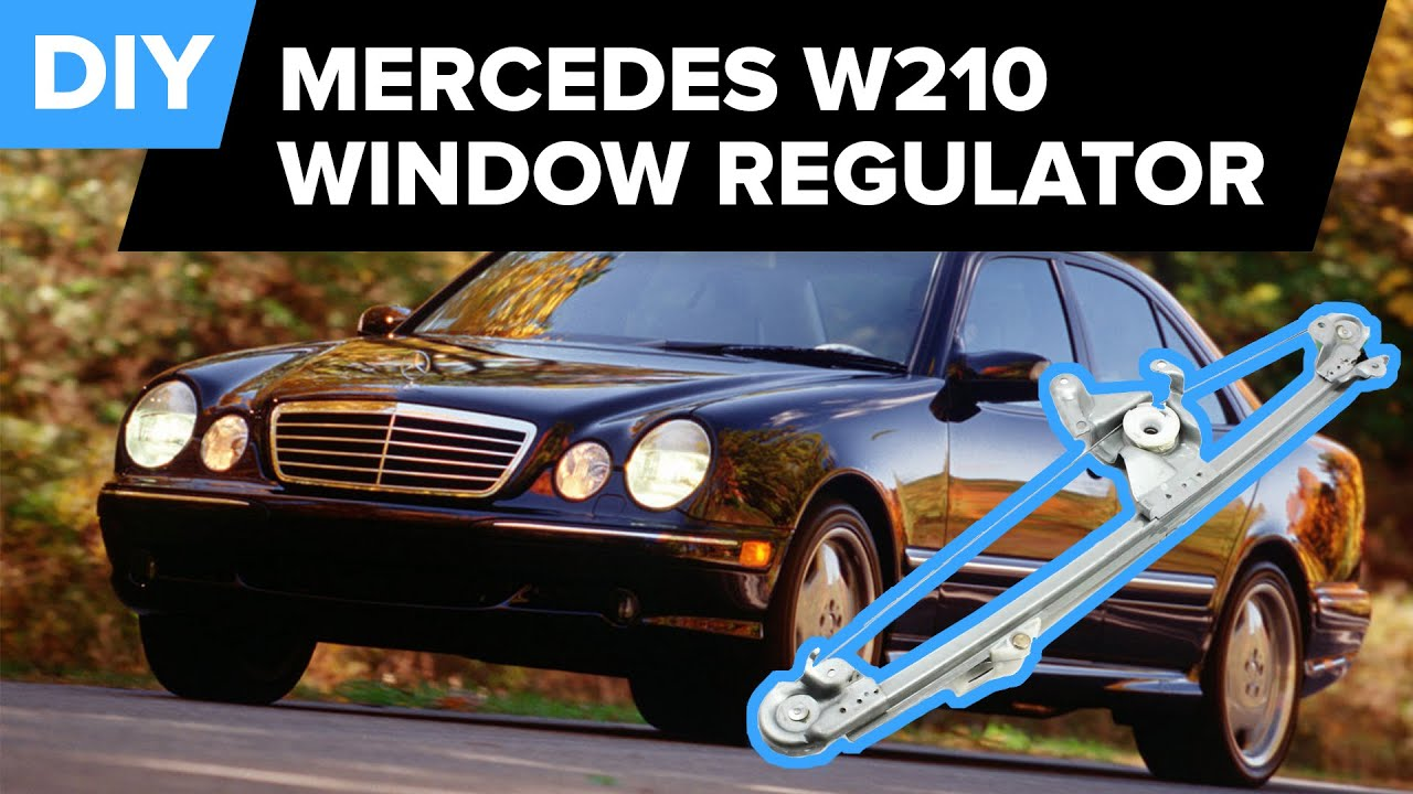 Mercedes Window Regulator Replacement Rear E320 Youtube 1993 Mercedesbenz 300ce Engine Wiring Harness W01331715518 Genuine