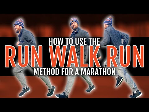 How to Use the Run Walk Run Method for a Marathon