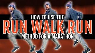 How to Use the Run Walk Run Method for a Marathon