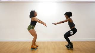 Why is roller skating good for fitness -  EPISODE ONE - Squat sequence