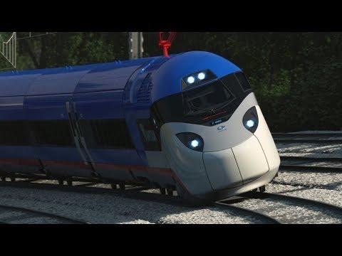 Топ-5 самых быстрых поездов мира