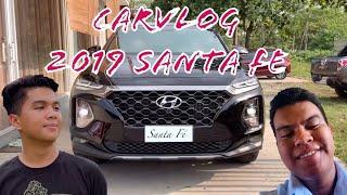 CAR VLOG ft. 2019 Hyundai Santa fe and 2014 Mitsubishi Mirage