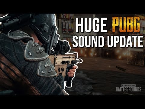 PUBG Sound Update   DIRECTIONAL SOUND ACTUALLY WORKS!
