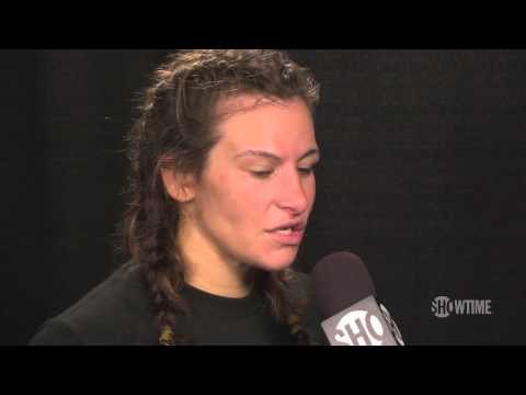 Strikeforce Rousey vs. Kaufman: Miesha Tate Post-Fight Interview