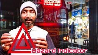 Hazard indicator : my explain   please don't use Hazard indicator on forward driving in traffic ....