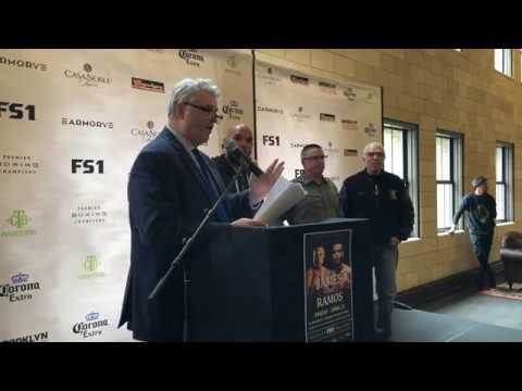 Jamal James vs. Abel Ramos: Premier Boxing Champions Press Conference - LIVE at The Armory