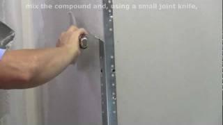 How to Finish Metal Drywall Corner Bead