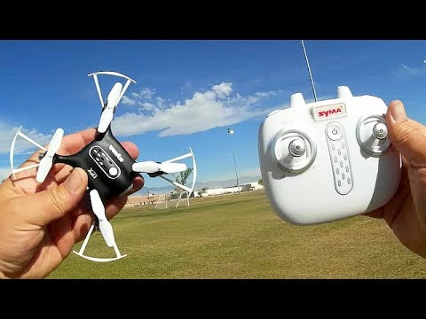 Syma X21 Altitude Hold Micro Drone Flight Test Review