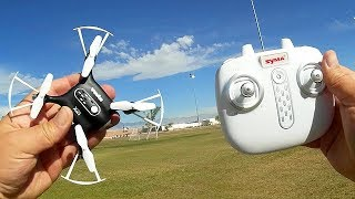This little altitude hold quadcopter is great for learning to fly, ...
