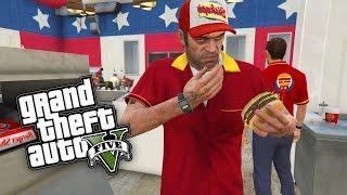 gta 5 burger shot GTA 5: 1$ BURGERSHOT JOB ! - REAL LIFE JOBS & GEFÄNGNIS MOD !!