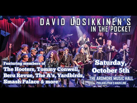 David Uosikkinen's In The Pocket Full Show - Live at Ardmore Music Hall on 10/5/19 mp3