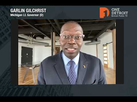 Lieutenant Governor Garlin Gilchrist D One Detroit Community Updates Youtube