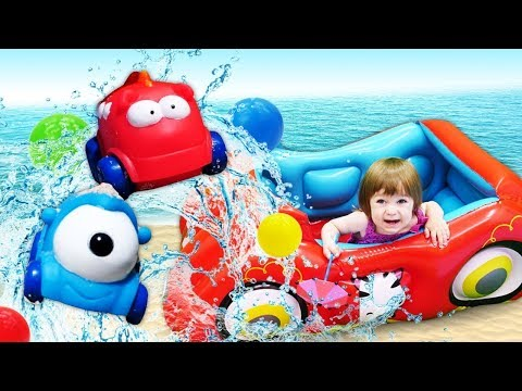 Маша Капуки и Бьянка на пляже - Игры для малышей - Привет, Бьянка