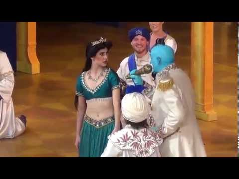 Genie's Jokes and Puns Part 18 - Aladdin A Musical Spectacular