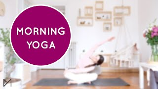 MORNING YOGA | #yogawithmarti