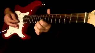Pathar ke sanam..Guitar Instrumental..please use headphones for better sound..{:-)