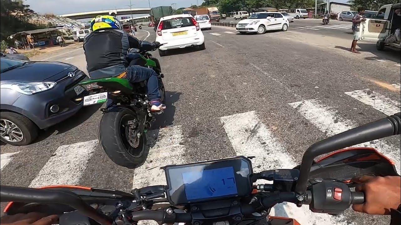 On Guwahati Highway | Z900 Close Call |  Daragaon part - 1