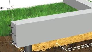 видео фундамент - Строительство дома