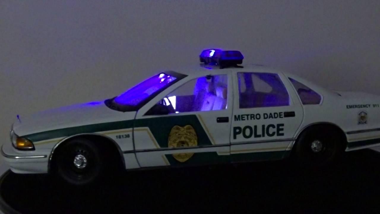 MIAMI METRO DADE POLICE CHEVY CAPRICE
