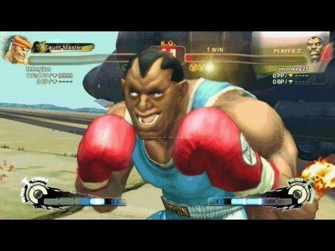 Stupid Street Fighter IV